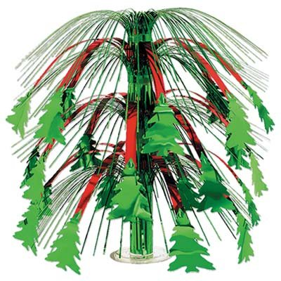 (Christmas Tree Cascade Centerpiece Party Accessory (1 count) (1/Pkg))