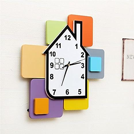 Reloj de pared Wuulii Decor- Reloj de pared en particular ...