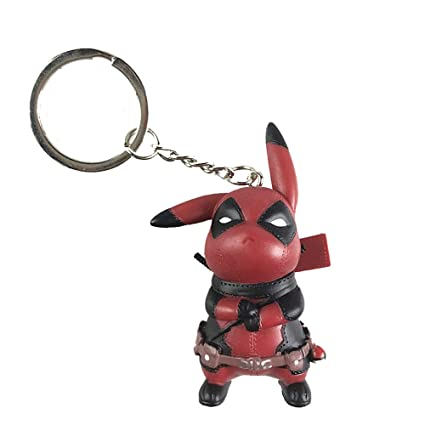 Amazon.com: JINGz Pikapool Pikachu Cosplay Deadpool ...