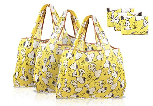 Snoopy Reusable Tote Bags