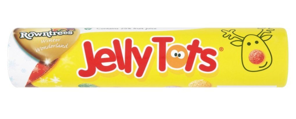 Rowntree's Jelly Tots Giant Tube 130 g