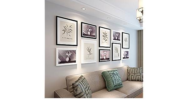 Marco foto creativo conjunto simple moderno Europeo estilo portaretrato portaretrato decorativo de pared de dormitorio de sala de estar: Amazon.es: Hogar