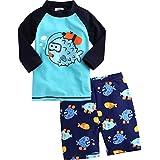 Vaenait baby 2T-7T Infant Boys Rashguard Swimsuit Diver L