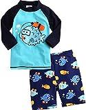 Vaenait baby 2T-7T Infant Boys Rashguard Swimsuit Diver XL