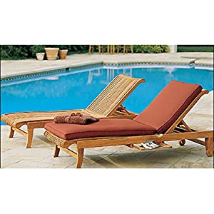 5109oOk957L._SS300_ Teak Lounge Chairs & Teak Chaise Lounges