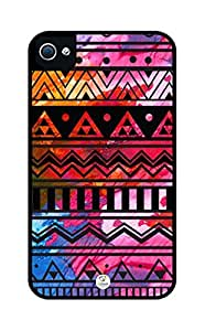 Colorful Africa on Wood Pattern Rugged Premium iphone 5 case - Fits iphone 5, iPhone 5S T-Mobile, AT&T, Sprint, Verizon and International (White)