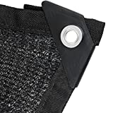 BeGrit 80% Sun Mesh Sunblock Shade Cloth UV Resistant Net for Garden Cover Flowers Plants Patio Lawn