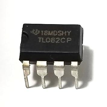 Texas Instruments TL082CP amplificador operacional (Pack de 5)