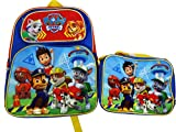 Paw Patrol Backpack and Lunch Bag combo set