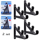 Croch Horizontal Wall Fishing Rod Rack for Fishing Rod Storage - 2 set