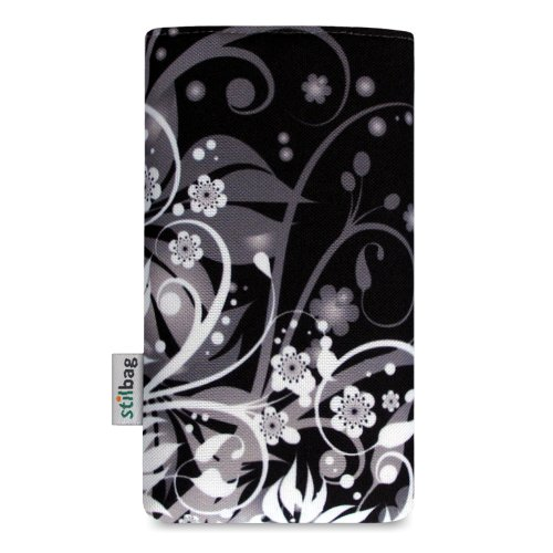 Stilbag Etui 'MIKA' pour Apple iPhone 4/4S - Dessin: Floral Chaos