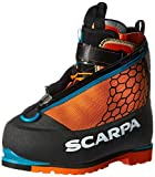 SCARPA Phantom 8000 Mountaineering Boot, Black/Orange, 40 EU/7.5 M US