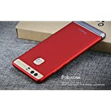 iPaky Chrome 2 Piece Hybrid Protective Back Case Cover for Huawei Ascend P9 - Red