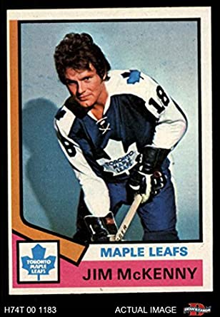 7406a38543a 1974 Topps # 198 Jim McKenny Toronto Maple Leafs (Hockey Card) Dean's Cards  5