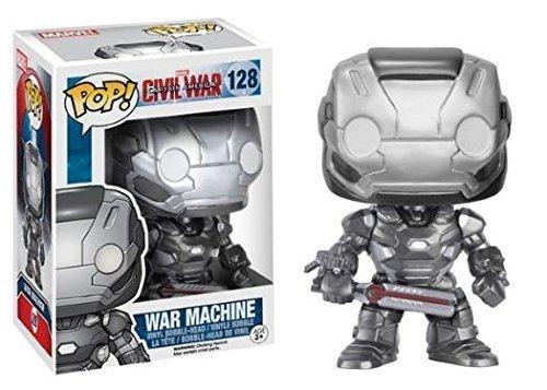 Funko POP! Captain America Civil War: War Machine - Vinyl Bobble-Head 128 NEW /item# R6SG5EB-48Q27182