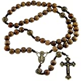 Wooden Our Father Rosary Beads