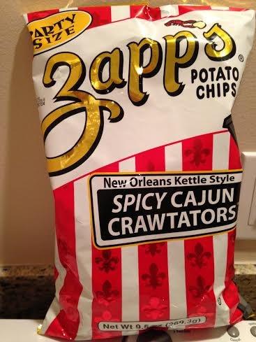 (Zapp's Spicy Cajun Crawtators Party Size Chips 9.5 oz)