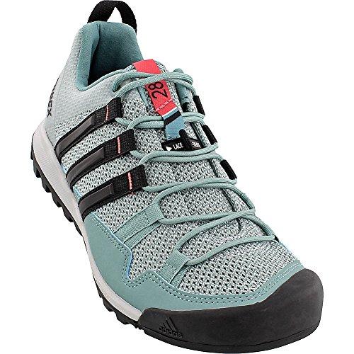 Adidas Terrex Solo Hikingsko - Womens Damp Stål / Sort / Taktile Rosa 12