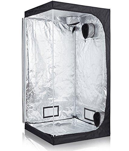 TopoLite 32″x32″x63″ 36″x36″x72″ 48″x24″x60″ 48″x48″x80″ 96″x48″x80″ Grow Tent Hydroponic Growing Dark Room Grow Box Indoor Planting (36″X36″X72″) Review