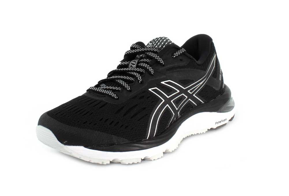 ASICS Women's GEL-Cumulus 20 B(M) Running Shoe B079SH5TXT 11.5 B(M) 20 US|Black/White 219bb3
