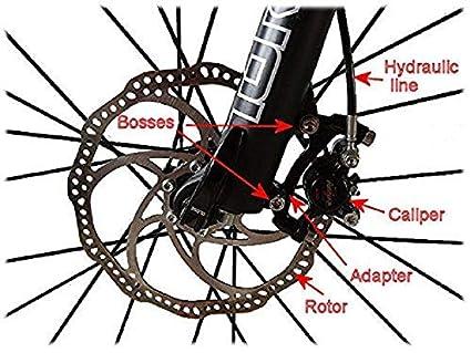 Buy Lighter House 1 Piece High Strength Bike Brake Disk Plate Flange