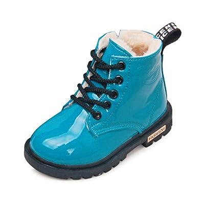 Stiefel Leder Enfants Wasserdicht Kids Martin Boots Snow 4A3jLSc5Rq