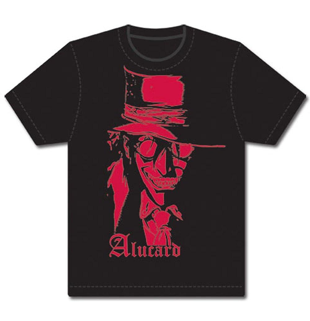 12a611532 Amazon.com: Best Anime Shop Hellsing Alucard Mens T-Shirt, Black: Clothing
