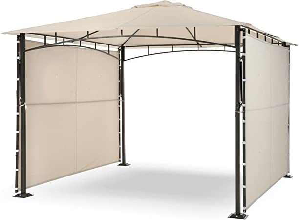 Gazebo 3x3 Con 2 Laterali Pieghevoli Razzaq Duo 05619 Amazon It