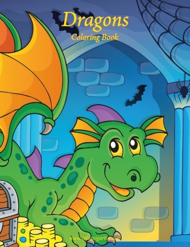 Dragons Coloring Book 1 (Volume 1)