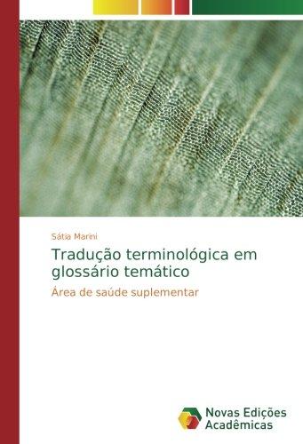 Tradução terminológica em glossário temático: Área de saúde suplementar
