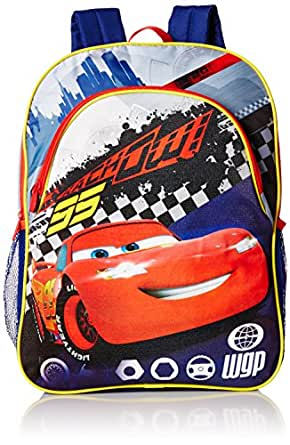 Disney Boys' Cars Light-Up Backpack, Multi, One Size