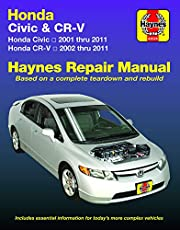 Honda Civic 2001 thru 2011 & CR-V 2002 thru 2011 Haynes Repair Manual: Does not include information specific to CNG or hybrid models