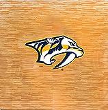 NHL Nashville Predators NHL 8-foot by 8-foot Fan Floor, Tan, 8-foot x 8-foot