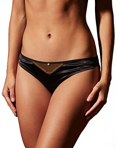 Scantilly by Curvy Kate Womens Peek-a-Boo Bare Face Cheek Brief Size Large in