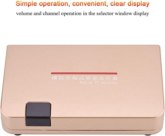 Eboxer Analog Tv Adapter Für Analog Tv Receiver Rf Zu Elektronik