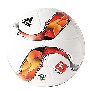 adidas Männer Trainings-Fußball Torfabrik, White/Black/Silver Met/ Solar...