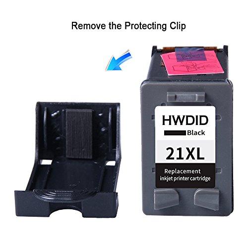 d9e0811745c8bc high-quality reconditionnées Lot de 2 cartouches d encre de remplacement  pour HP 21 XL Noir ...