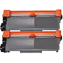 2 Pack - Compatible Black High Yield Toner Cartridge for TN-660 (TN660) TN-630 Works With Following Printer Models: Brother DCP-L2520DW DCP-L2540DW HL-L2300D HL-L2305W HL-L2320D HL-L2340DW HL-L2360DW HL-L2380DW MFC-L2680W MFC-L2700DW MFC-L2705DW MFC-L2707DW MFC-L2720DW MFC-L2740DW by Forlei® Products