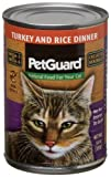 Pet Guard Turkey and Rice Food for Cats, 14-Ounce Cans (Pack of 12), My Pet Supplies
