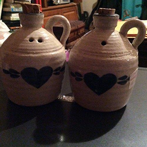 Stoneware Whiskey (Pinewood Valley Stoneware Crock Salt and Pepper Shaker Whisky Jugs)