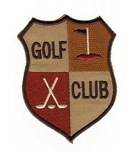 Parche con plancha nadadores Golf Sport Club Raqueta Escudo
