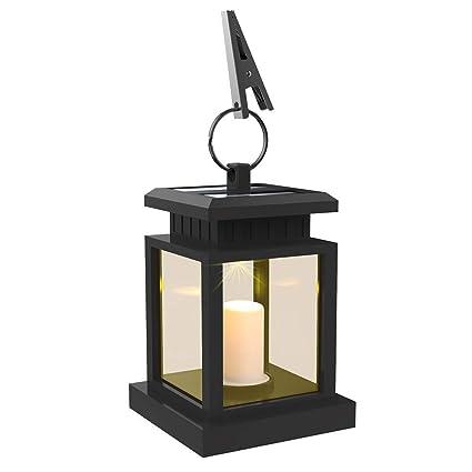Amazon.com: Luz para exterior de energía solar LEAGY ...