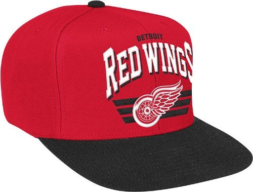 Detroit Red Wings The Stadium Arch Vintage Red/Black Hat