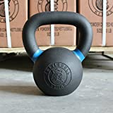 Kettlebell Kings | Kettlebell Weights & Kettlebell Set | Powder Coat Kettlebells For Women & Men | Durable Coating for Grip Strength, Rust Prevention, Longevity | American Style Kettlebell