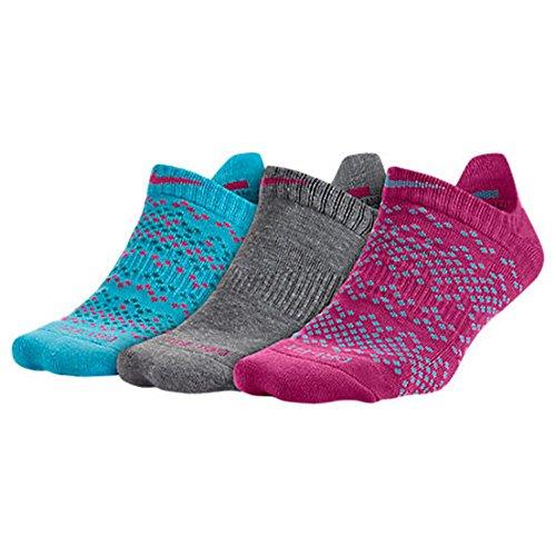 the latest 40cee 36ba0 Sports   Outdoors   B015YO2G5I. Women s Nike Dri-FIT Graphic No Show 3-Pack  Socks (Multicolor 9)