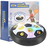 Totem World Emoji Hover Ball Toys for Boys Gifts, Hover Soccer Ball Football Toy with LED Light and Foam Bumpers Indoor Outdoor Game Ideas for 5 6 7 8 11 Year Old Boy Girl Gift.