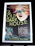 #5: THE OLD DARK HOUSE 1932 BORIS KARLOFF 27 x 41 ONE SHEET UNIVERSAL HORROR!!