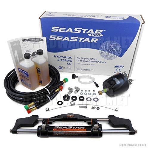 - SeaStar HK6400A-3 HO5120 HK6320A-3 Hydraulic 20ft Outboard Steering Kit Teleflex