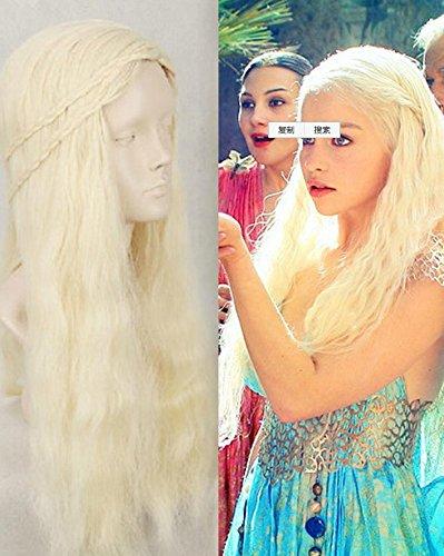 ANDP Cosplay Wig Inspired by Daenerys Targaryen Dragon Princess Game of Thrones Braids Costume (2)