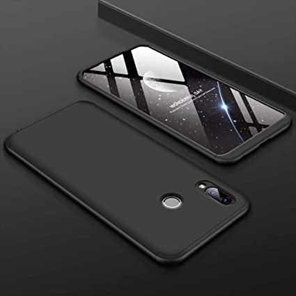 new arrival 503a7 6c272 SPAZY CASE® Asus Zenfone Max Pro M2 Back Cover Case Ull Body 3 in 1 Slim  Fit Complete 3D 360 Degree Protection Hybrid Hard Bumper Back Case Cover  for ...